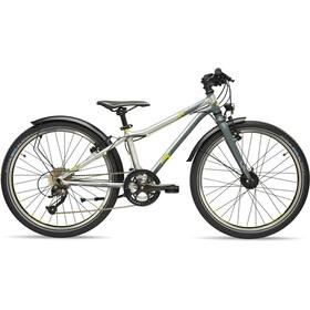 s'cool XXlite elite 24 18-S - Vélo enfant - gris/argent